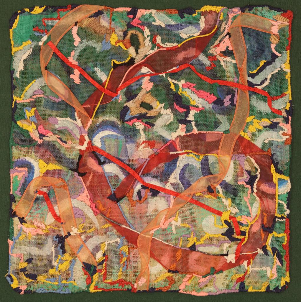 DK223 Wspomnienie 2008 69x69 cm tkanina
