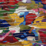 Delfina Krasicka Wspomnienie tkanina 130x96  2012