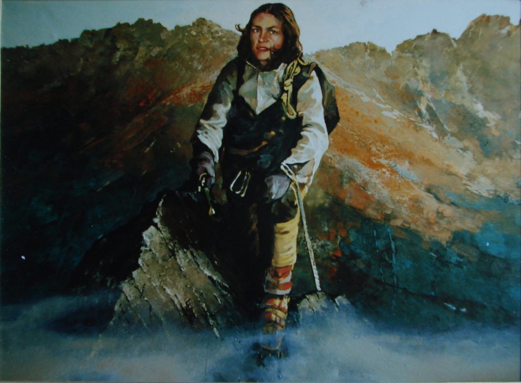 Wanda Rutkiewicz, olej 160 x120 1997r