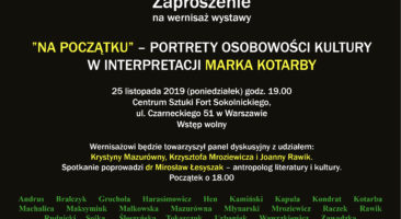 NA POCZĄTKU, Marek Kotarba