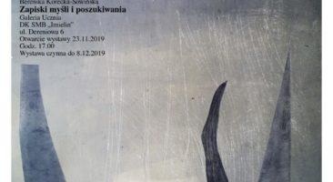 """Berenika Korecka-Sowińska """"Zapiski myśli i poszukiwania"""""""