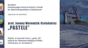 "Prof. Jolanta Walendzik-Stefańska, ""Pastele""."