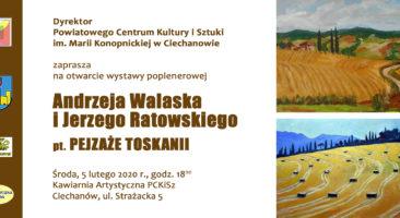 Pejzaże Toskanii, Andrzej Walasek, Jerzy Ratowski